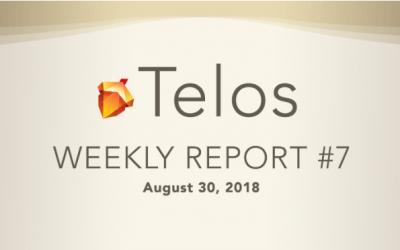 Telos Foundation Weekly Update #7