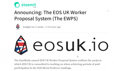 Announcing: The EOS UK Worker Proposal System (The EWPS)